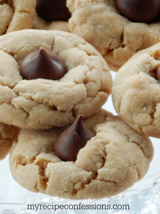 Peanut Butter Hershey Kiss Cookies2