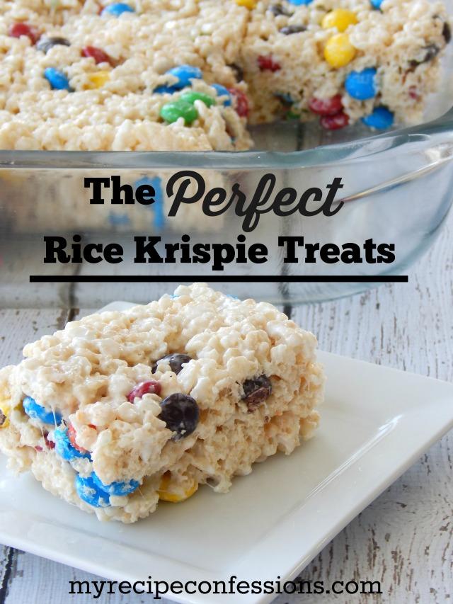 The perfect Rice Krispie Treats