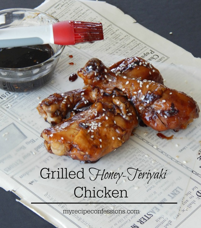 Grilled Honey-Teriyaki Chicken