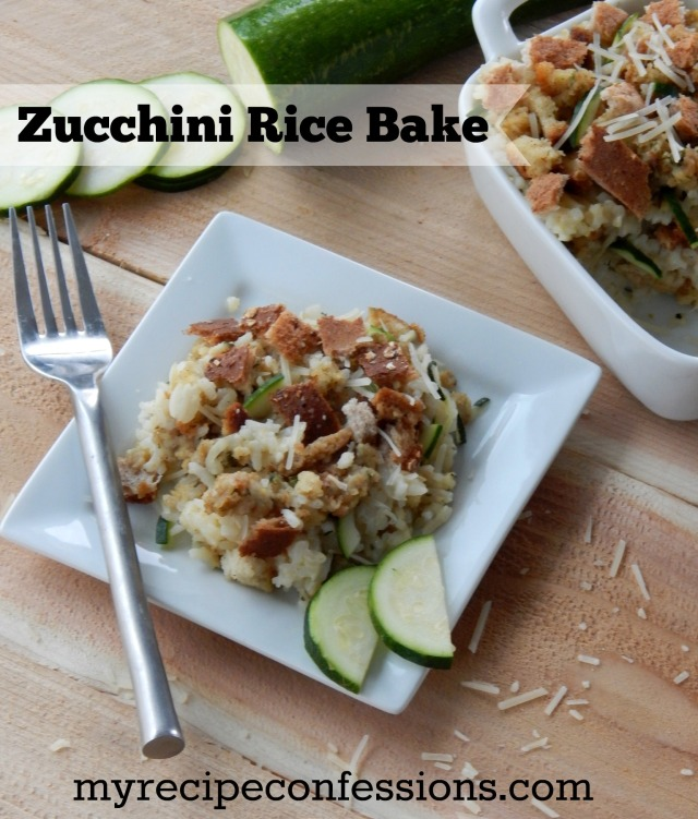 Zucchini Rice Bake