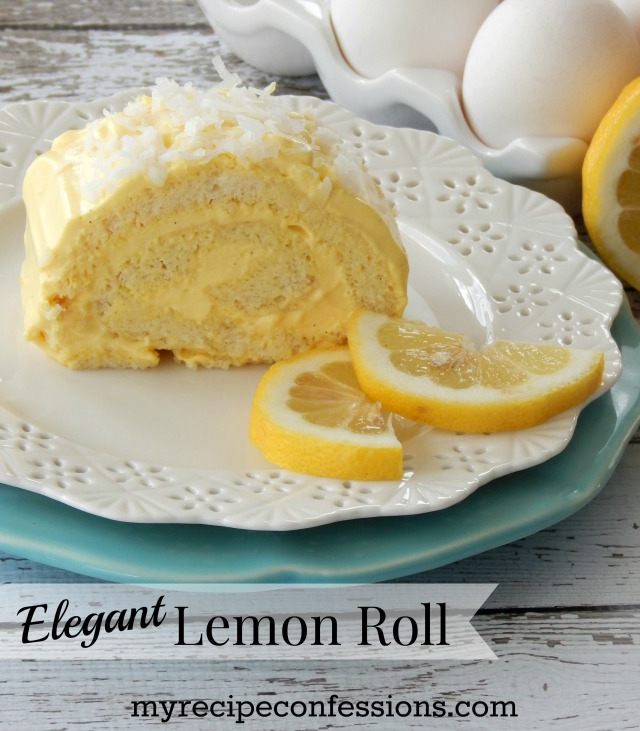 Elegant Lemon Roll