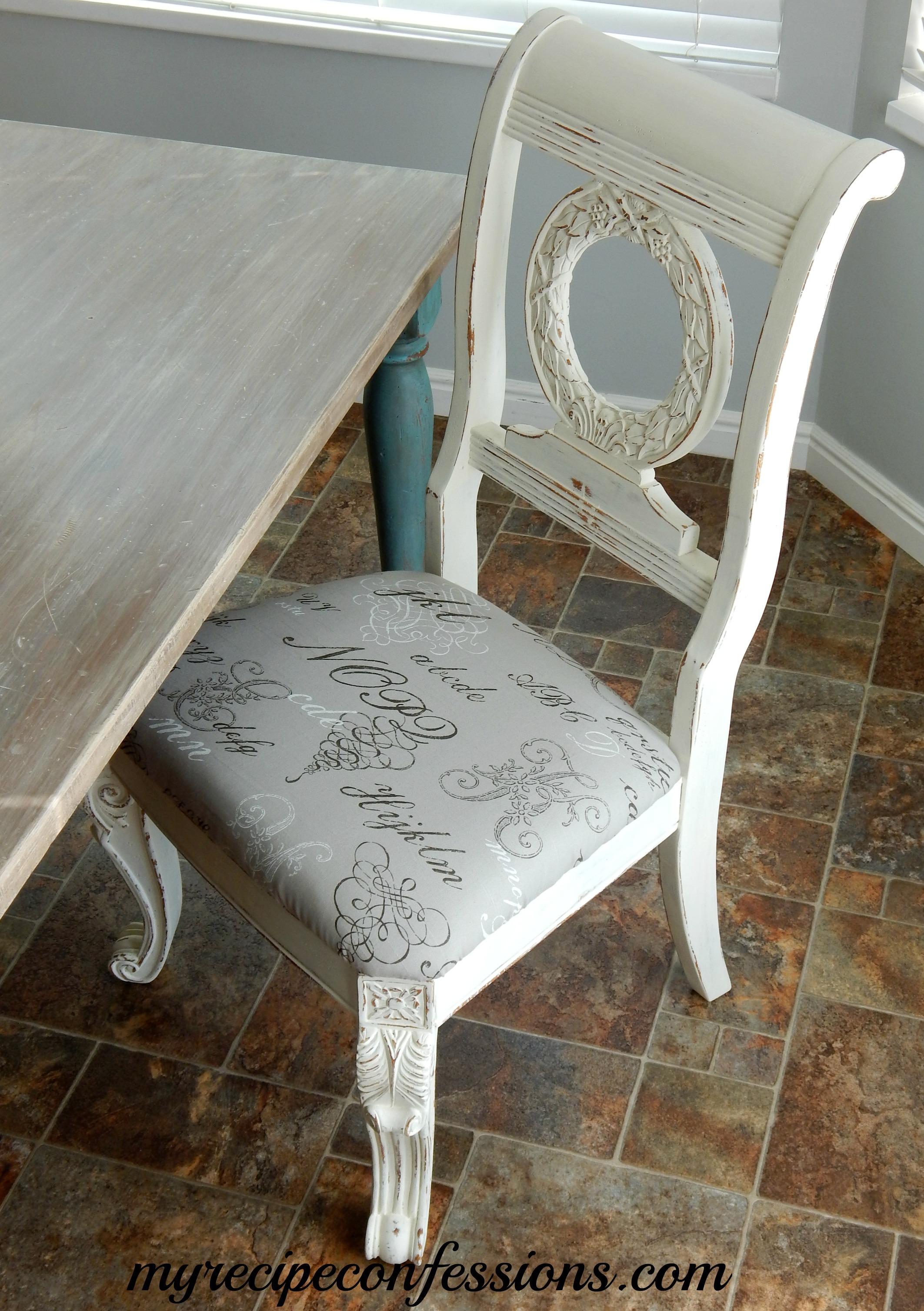 Annie Sloan Chalk Paint Chair