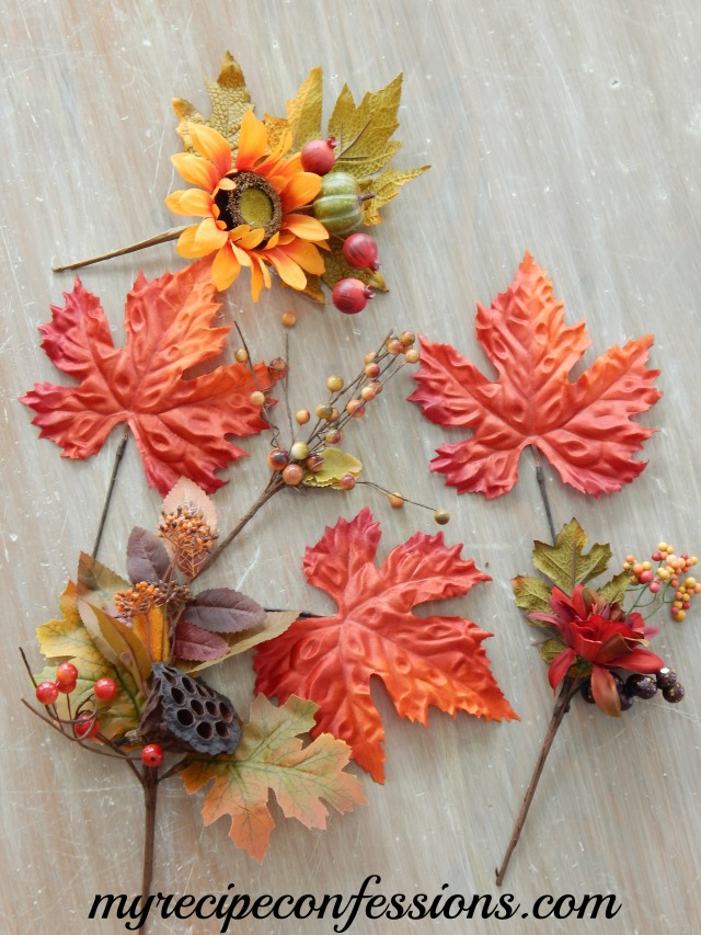 Fall Floral Picks