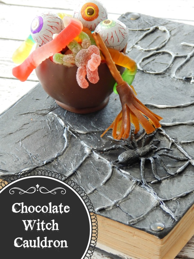 Chocolate Witch Cauldron