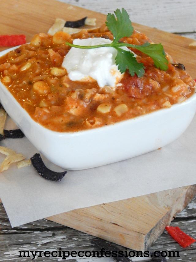 Creamy Chicken Tortilla Soup2