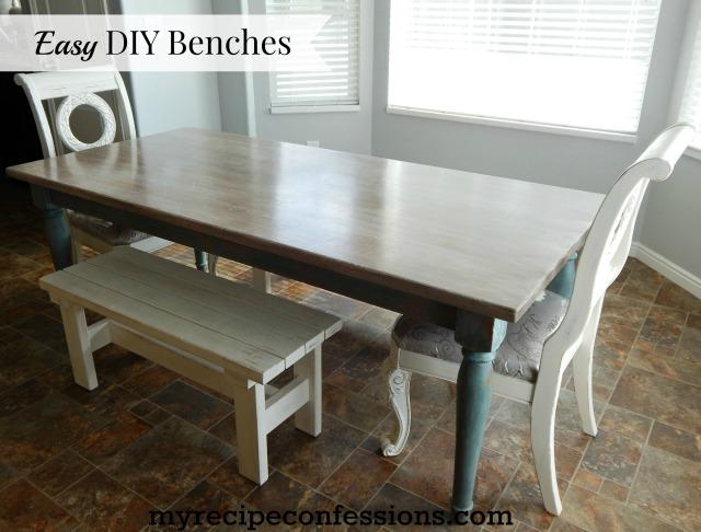 Easy DIY Benches