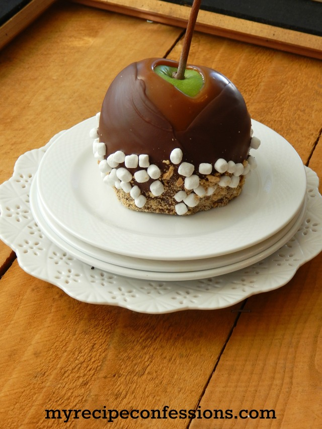 Smores Caramel Apple