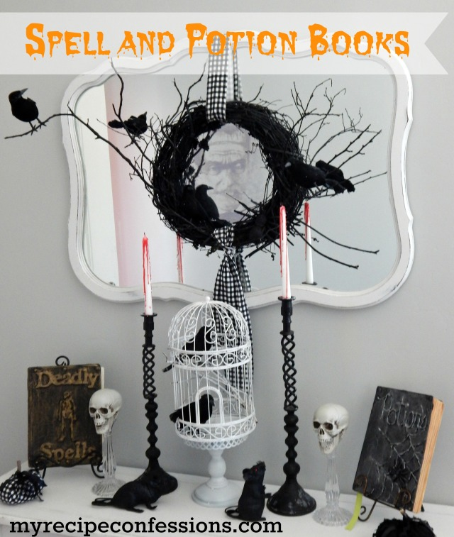 Spell and Potion Books