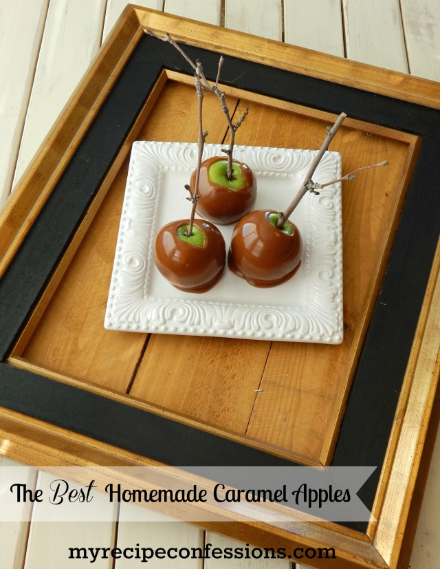 The Best Homemade Caramel Apples