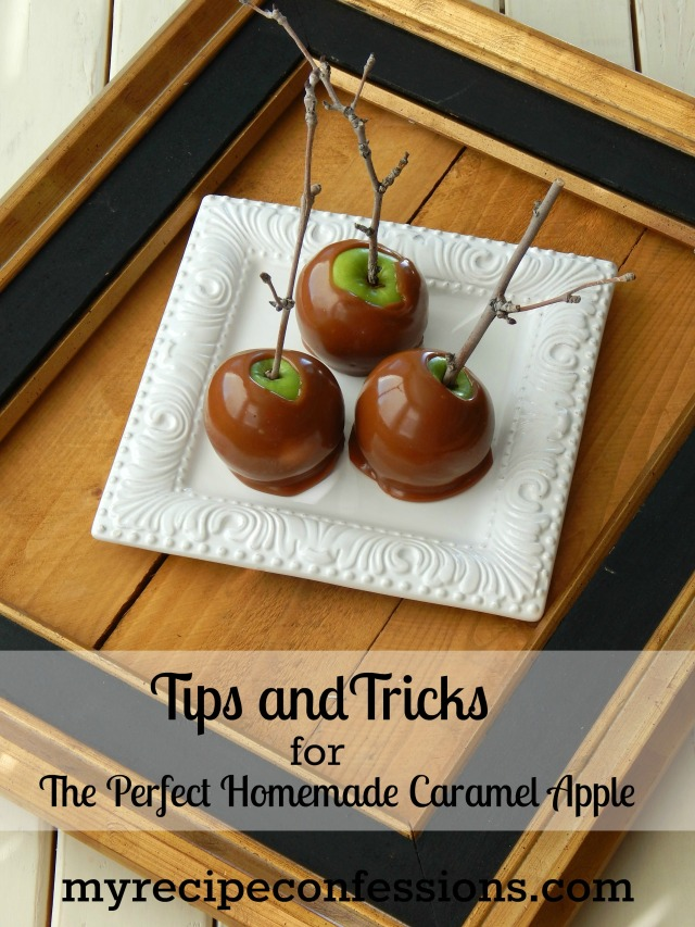 Tips and Tricks For The Perfect Homemade Caramel Apple